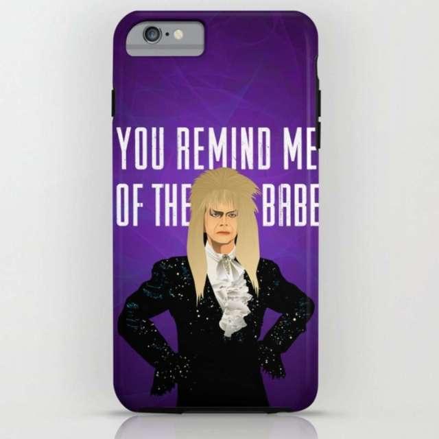 Labyrinth Design (David Bowie - Jareth) | Phone Case | The Design Jedi