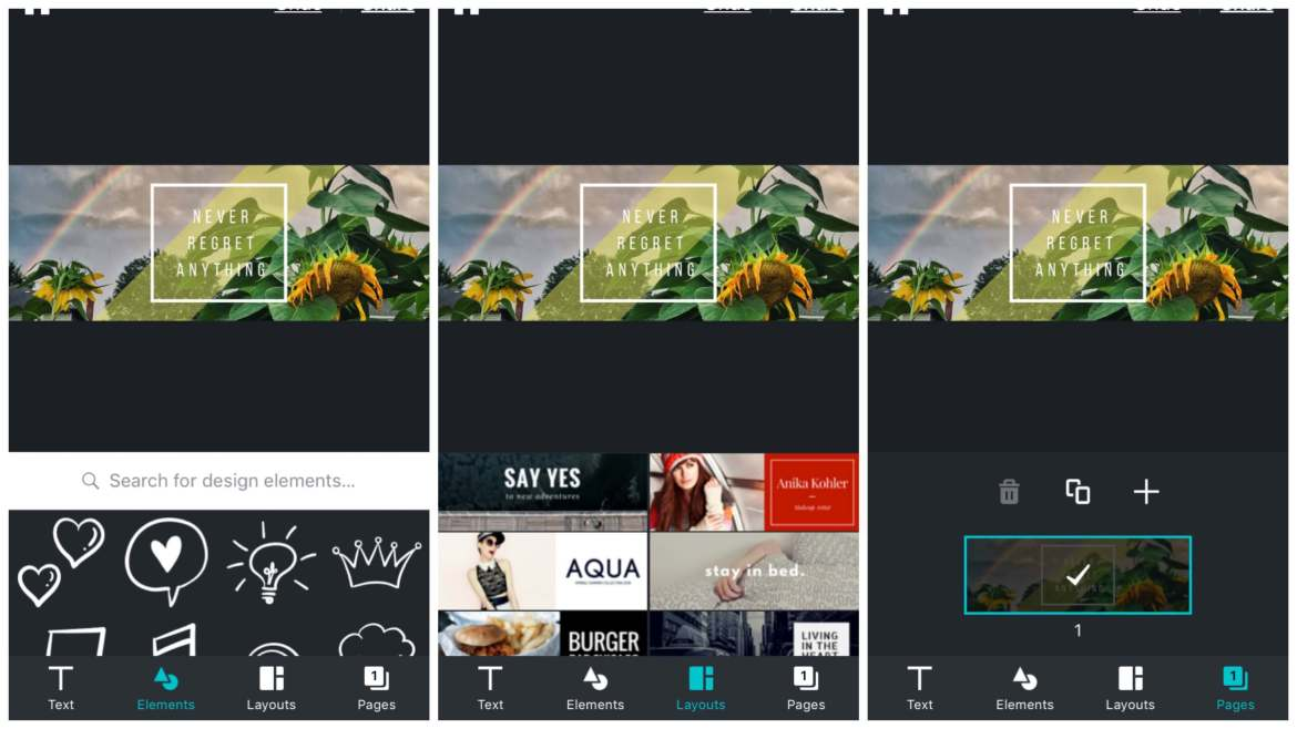 Canva for iPhone | App Review | The Design Jedi | App Screenshots 2
