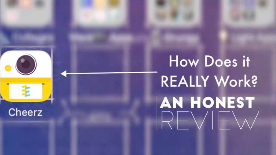 The Design Jedi | Honest App Review - Cheerz