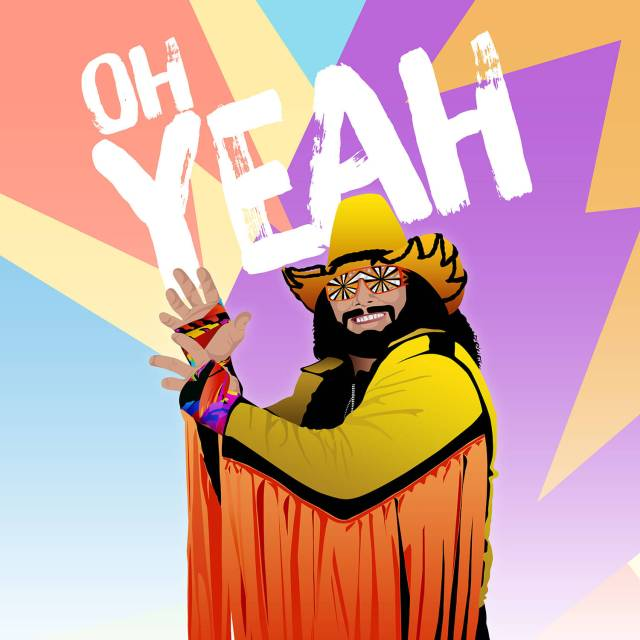 Randy Macho Man Savage Design | The Design Jedi