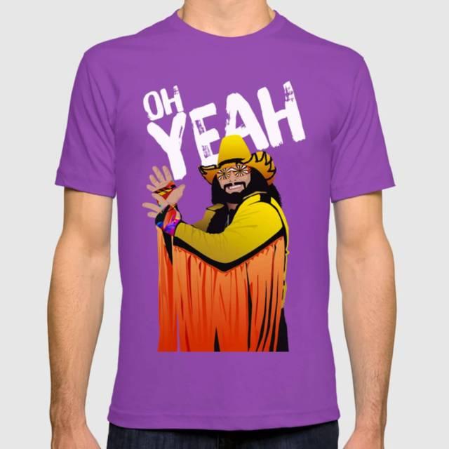 Randy Macho Man Savage Design | T-Shirt | The Design Jedi