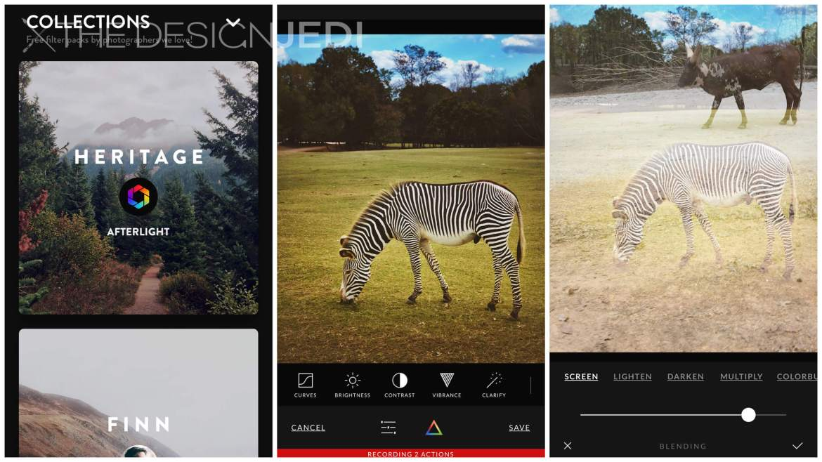 The Design Jedi | App Review - Afterlight 2 | Filter/Double Exposure Screenshots