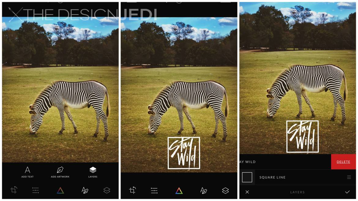 The Design Jedi | App Review - Afterlight 2 | Typography Screenshots