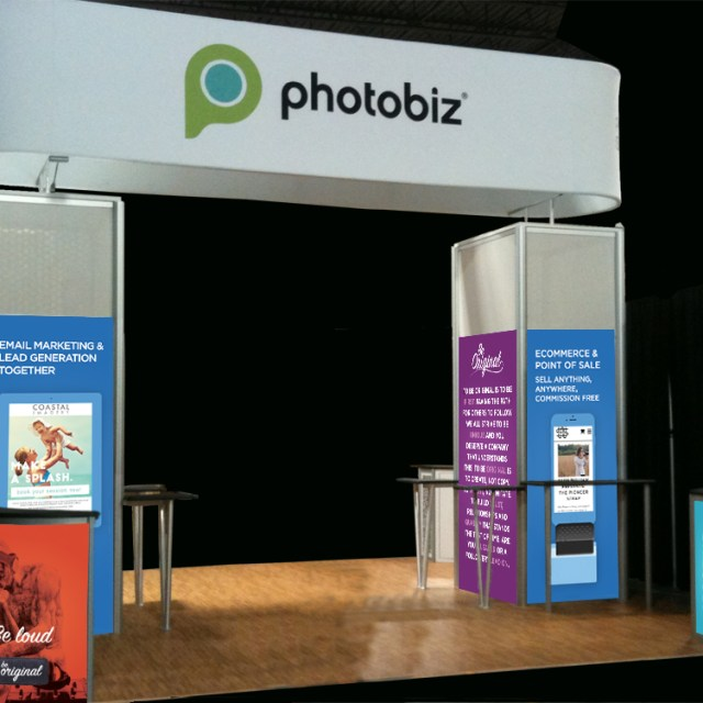 The Design Jedi | Trade show Booth Design - PhotoBiz