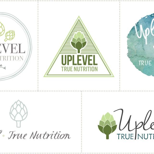The Design Jedi | Logo Design Concepts - Uplevel True Nutrition