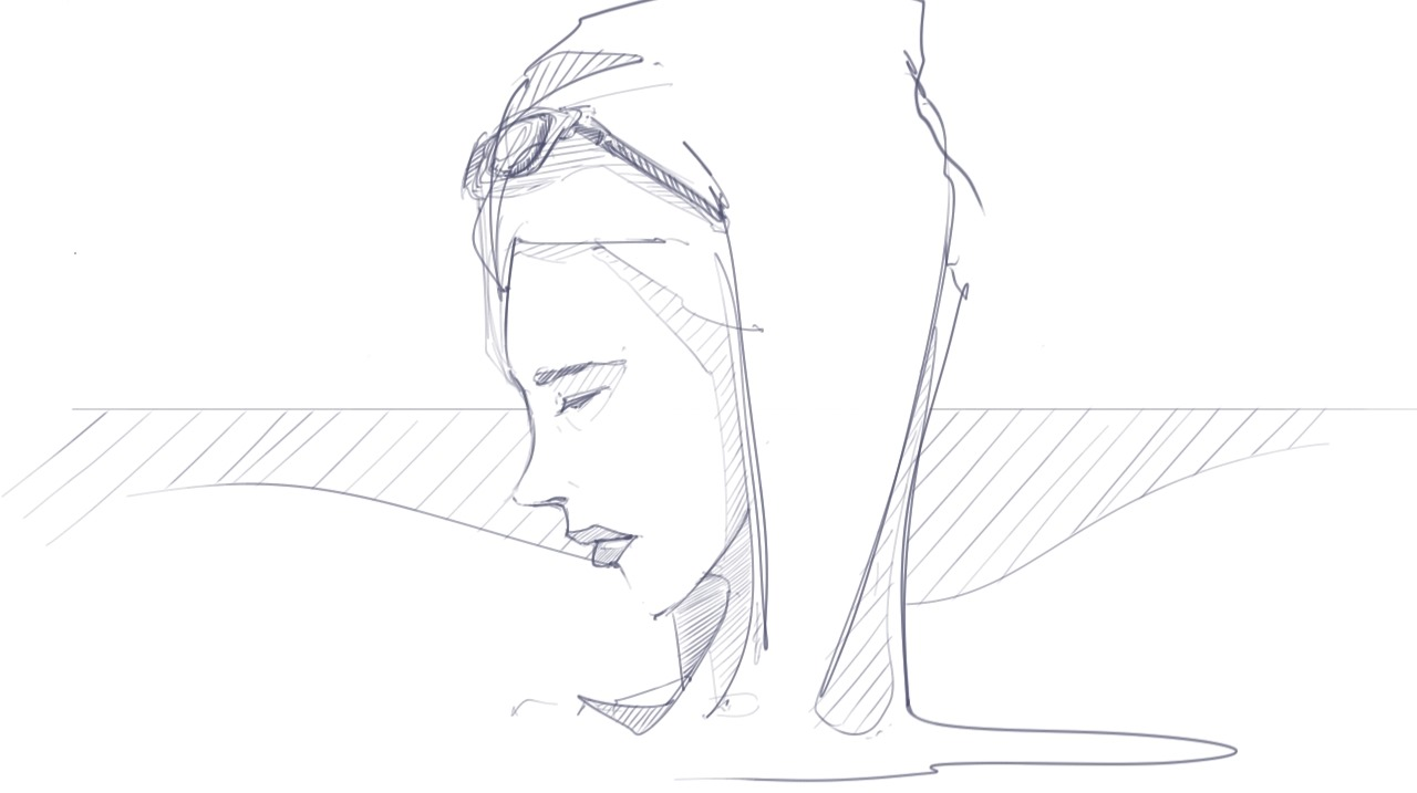 reading-girl-theDesignSketchbook