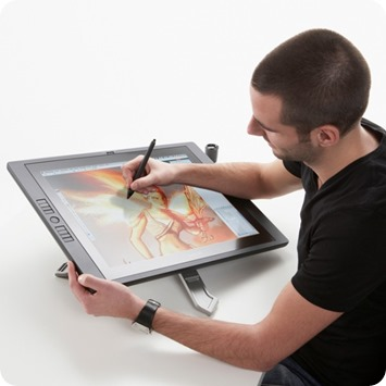 I Asked Opinion To My Friend Adrien Wira Designer At Adidas About Which Tablet Would Fit Me Better He Owns The Cintiq 22HD Saw People Using 24HD And