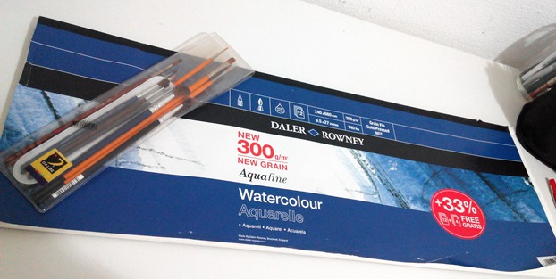 daler rowney watercolour paper
