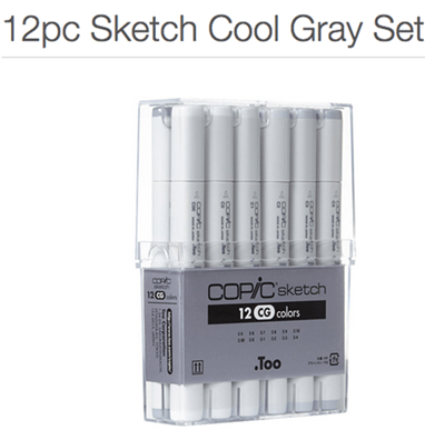 Copic Grey of Shade