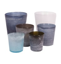 Vintage Glass Vases available from Pezula Interiors | via http://www.pezulainteriors.co.za/Product.php?sid=4&pid=100