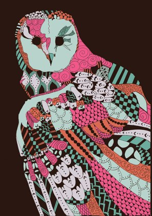 Natalia Segerman - Owl {The Design Tabloid}