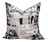 Vintage Magazine Cushion from Loads of Living | http://www.loadsofliving.co.za/scatter-cushions.aspx