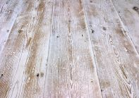 Timber flooring with a whitewashed effect | via http://www.traditionaltimber.co.uk/products-page/victorian-original-pine-boards/lime-washed-fleet-street-pine/