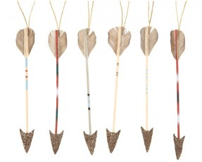 """Quill and Quiver"" ornaments from Jayson Home. Yes please! I'll take 6 arrows! 