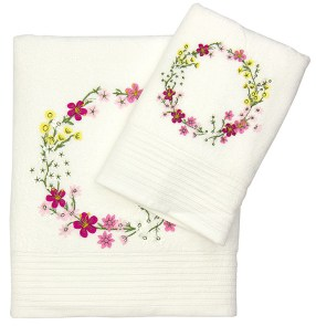 Tsitsikamma Wreath Towels by Frances White for Mr Price Home