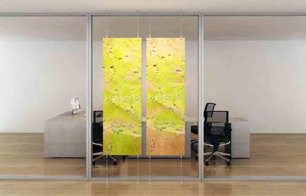 Floating Panel Workspace CoArt Acoustics