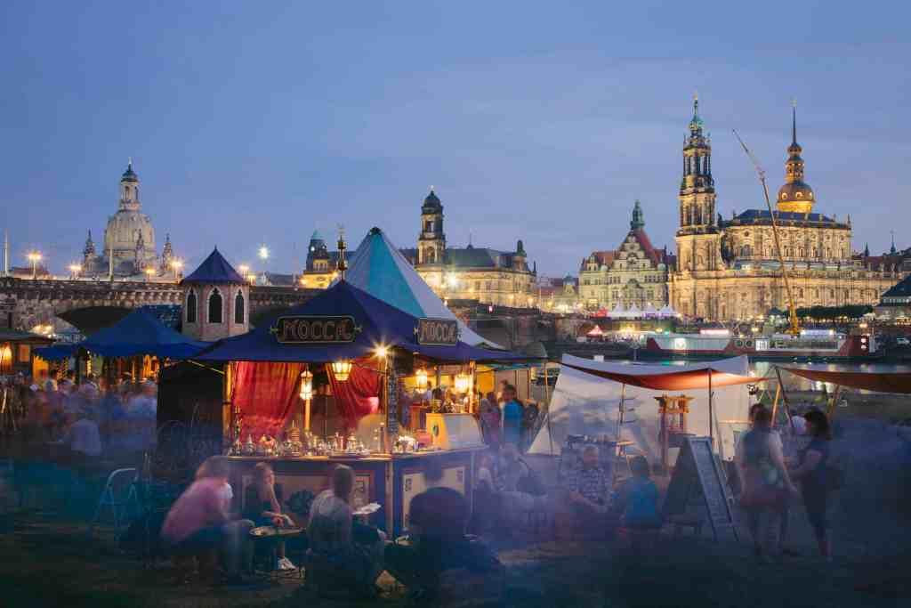 Dresden Medieval Christmas Market © 2013 Sven Döring / Agentur Focus