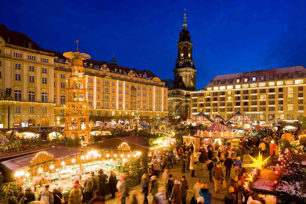 Striezelmarkt Dresden © Sylvio Dittrich
