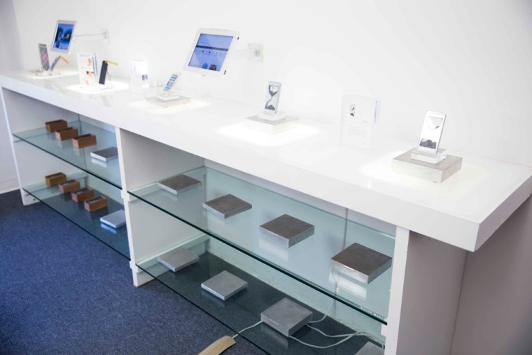 Start-Up is designed to look like a tech store, but its objects are ironic. Image: Fueled Collective/Evan Yee