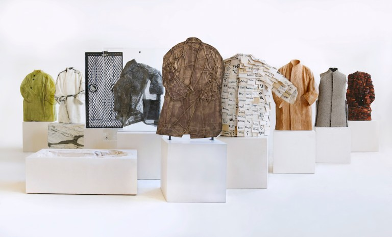 10 Coats, part of The Cloakroom at V&A by Faye Toogood. Photo: supplied