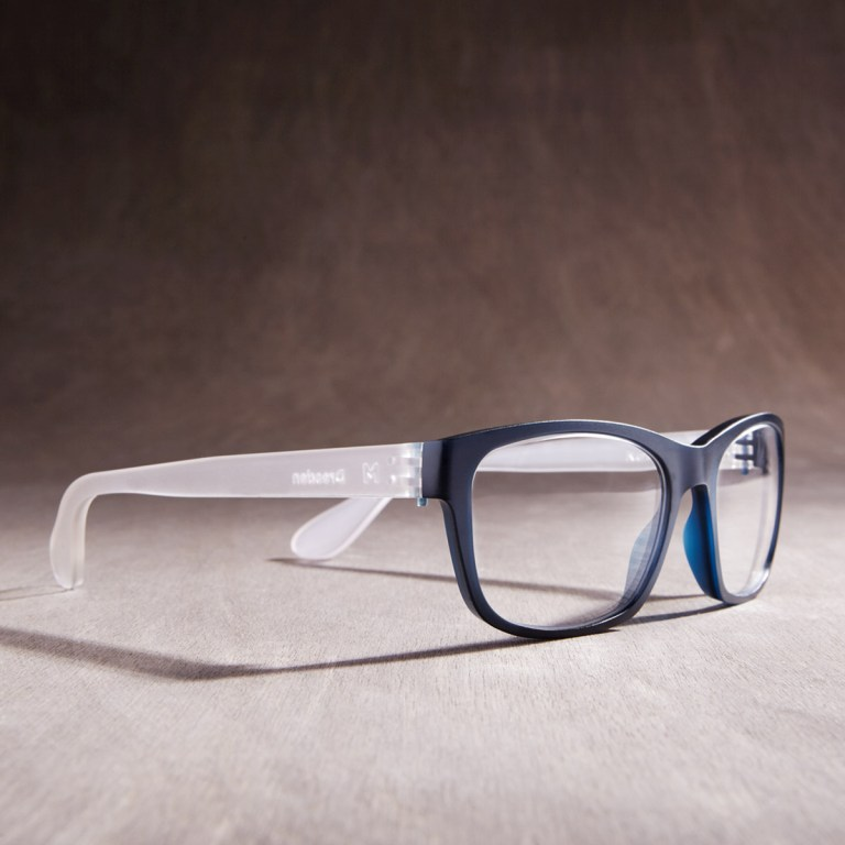 Dresden Optics glasses are made from recycled glass designed by Andrew Simpson of Vert. Image: supplied