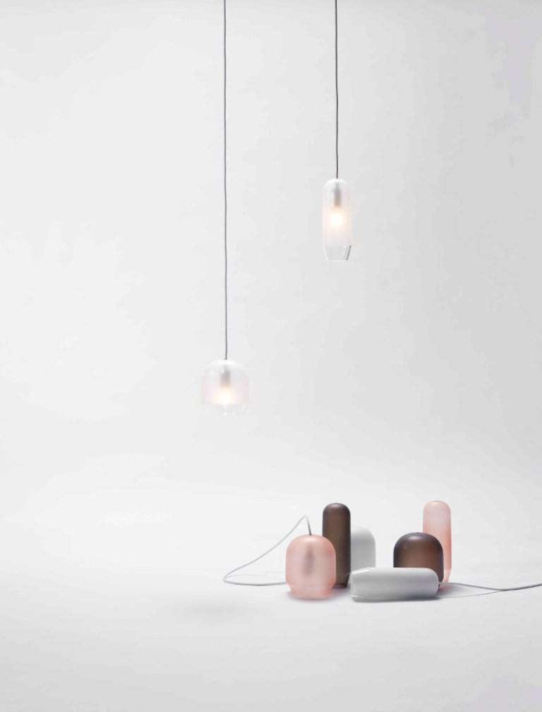 Raso light designed by Sebastian Herkner for ex.t. Image: supplied