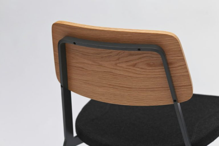 Detail, Sprint chair by Sean Dix for Zenith. Image: supplied