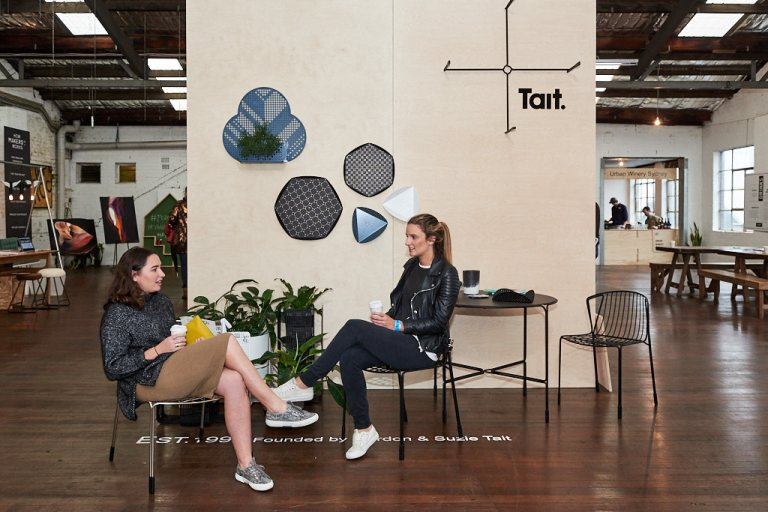 Tait at Factory Design District. Photo: Fiona Susanto