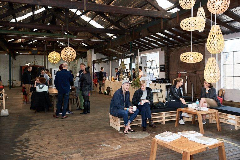 Factory Design District, held in Sydney in June 2016. Photo: Fiona Susanto