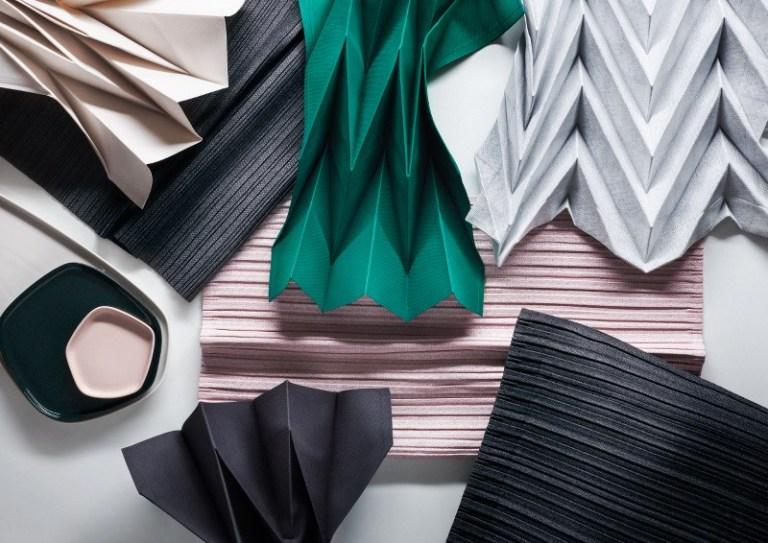 Iittala x Issey Miyake fabrics. Photo: supplied