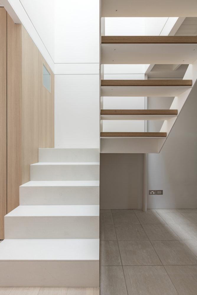 Steel stair by Benn & Penna. Photo: Tom Ferguson