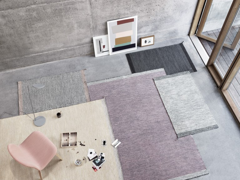 Ply rug series designed by Margarethe Odgaard for Muuto. The Design Writer blog