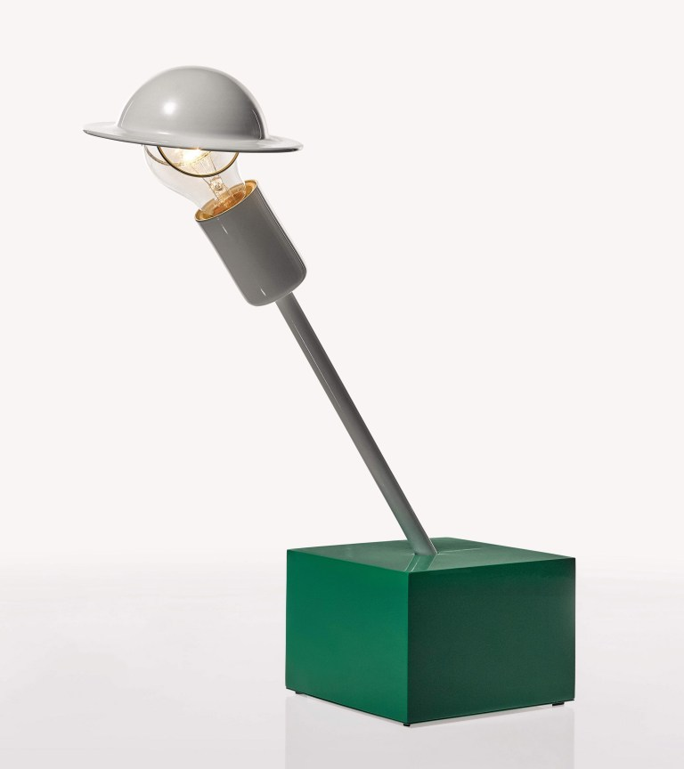 Don' Table Lamp, Memphis, designed by Ettore Sottsass, 1977
