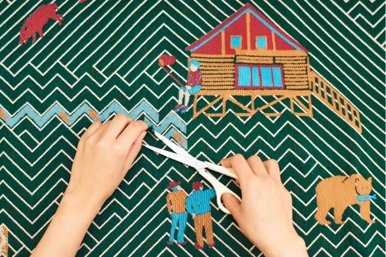 Japanese emerging designer Yuri Himuro's Snip Snap series