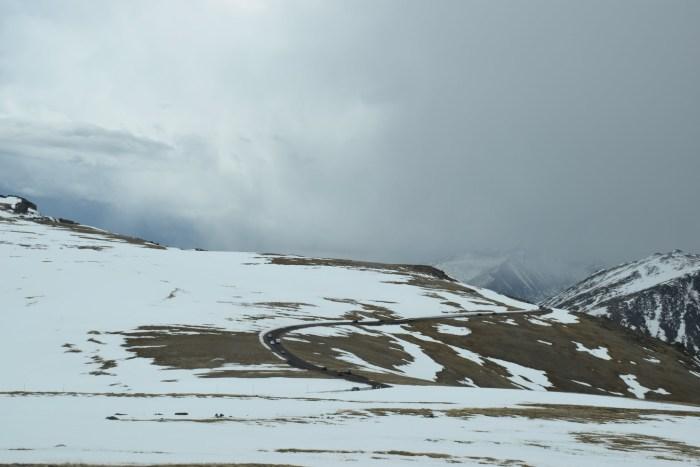 Trail ridge road in RMNP