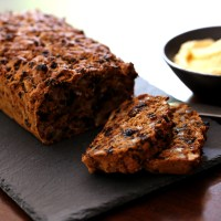 Irish Tea Cake with Whiskey Butter
