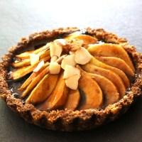 Pear, Prune & Almond Tart