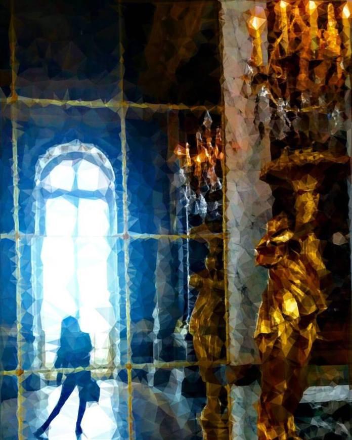 Girl in Versailles
