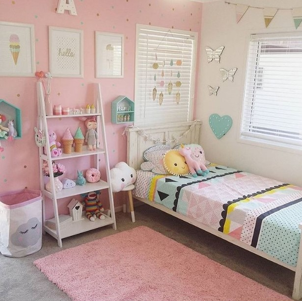 50 Cute Teenage Girl Bedroom Ideas | How To Make a Small ... on Small Bedroom Ideas For Teenage Girl  id=33340