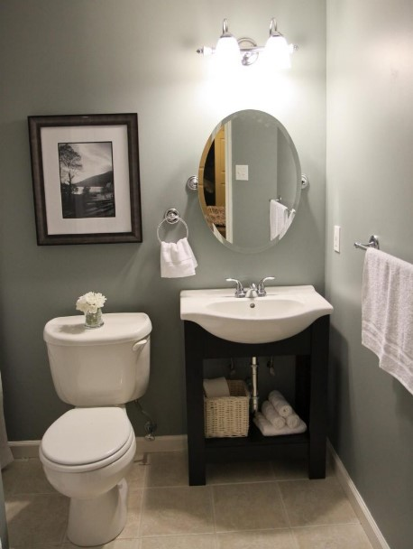 50 Half Bathroom Ideas That Will Impress Your Guests And ... on Small Apartment Bathroom Ideas  id=90274