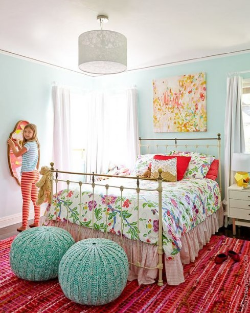 50 Cute Teenage Girl Bedroom Ideas | How To Make a Small ... on Girls Bedroom Ideas For Very Small Rooms  id=94040