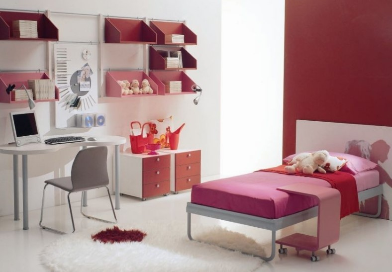 50 Cute Teenage Girl Bedroom Ideas | How To Make a Small ... on Girls Bedroom Ideas For Very Small Rooms  id=41489