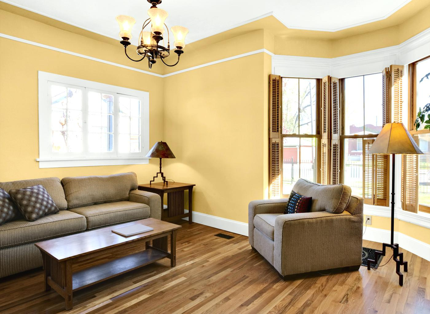 50 Living Room Paint Color Ideas for the Heart of the Home ... on Room Painting id=97654