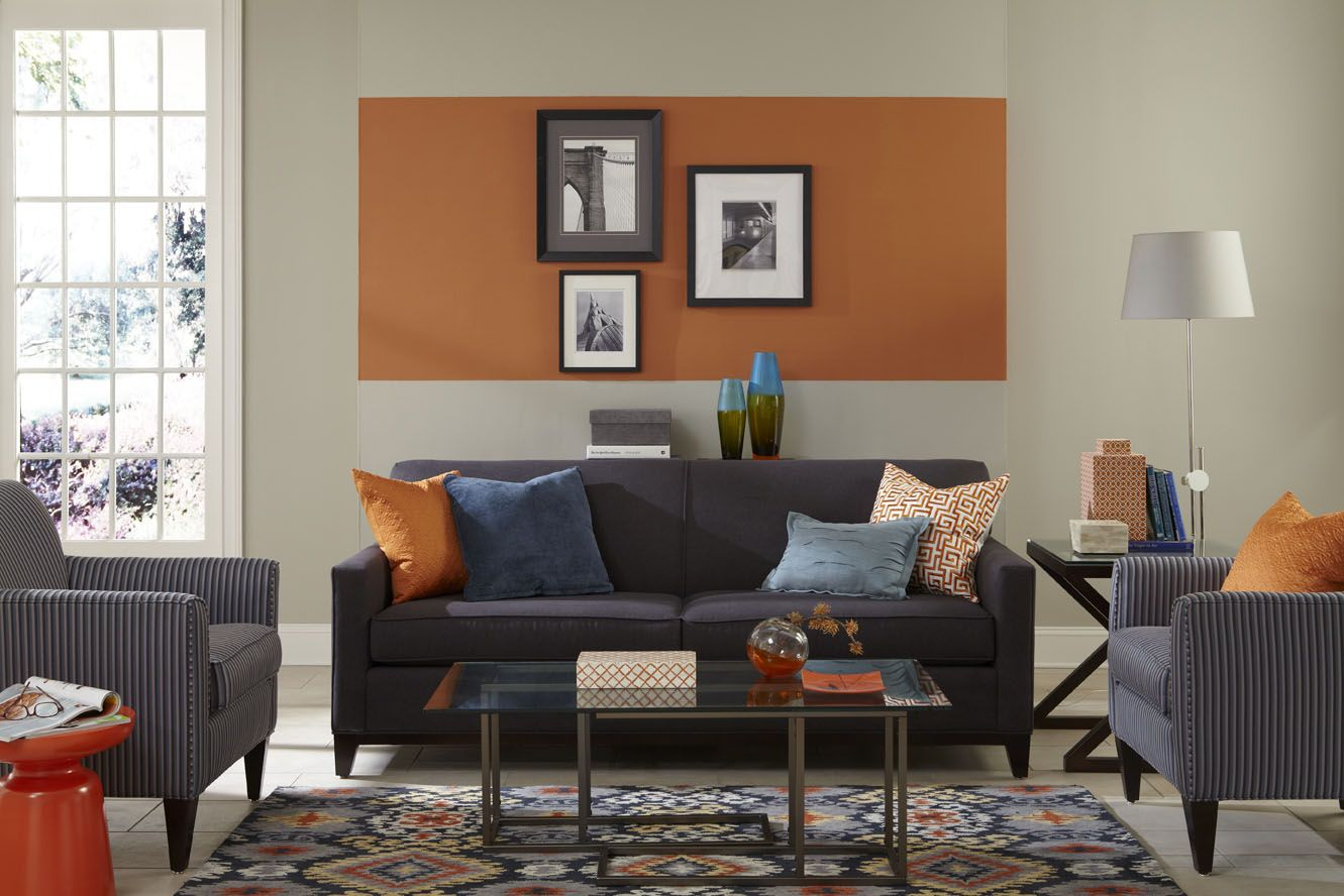 50 Living Room Paint Color Ideas for the Heart of the Home ... on Room Painting id=84749