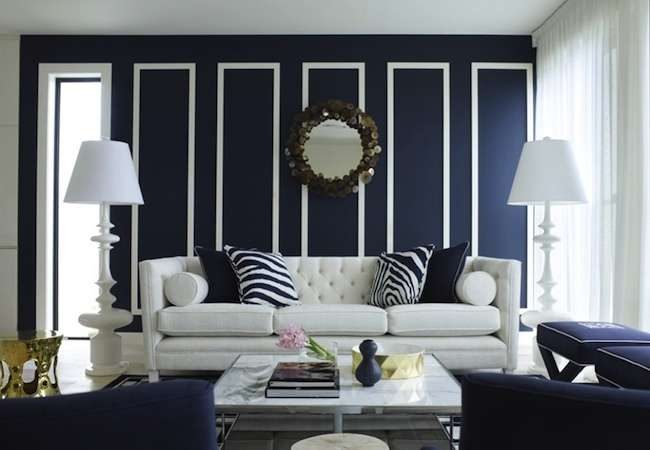 50 Living Room Paint Color Ideas for the Heart of the Home ... on Room Painting id=31387