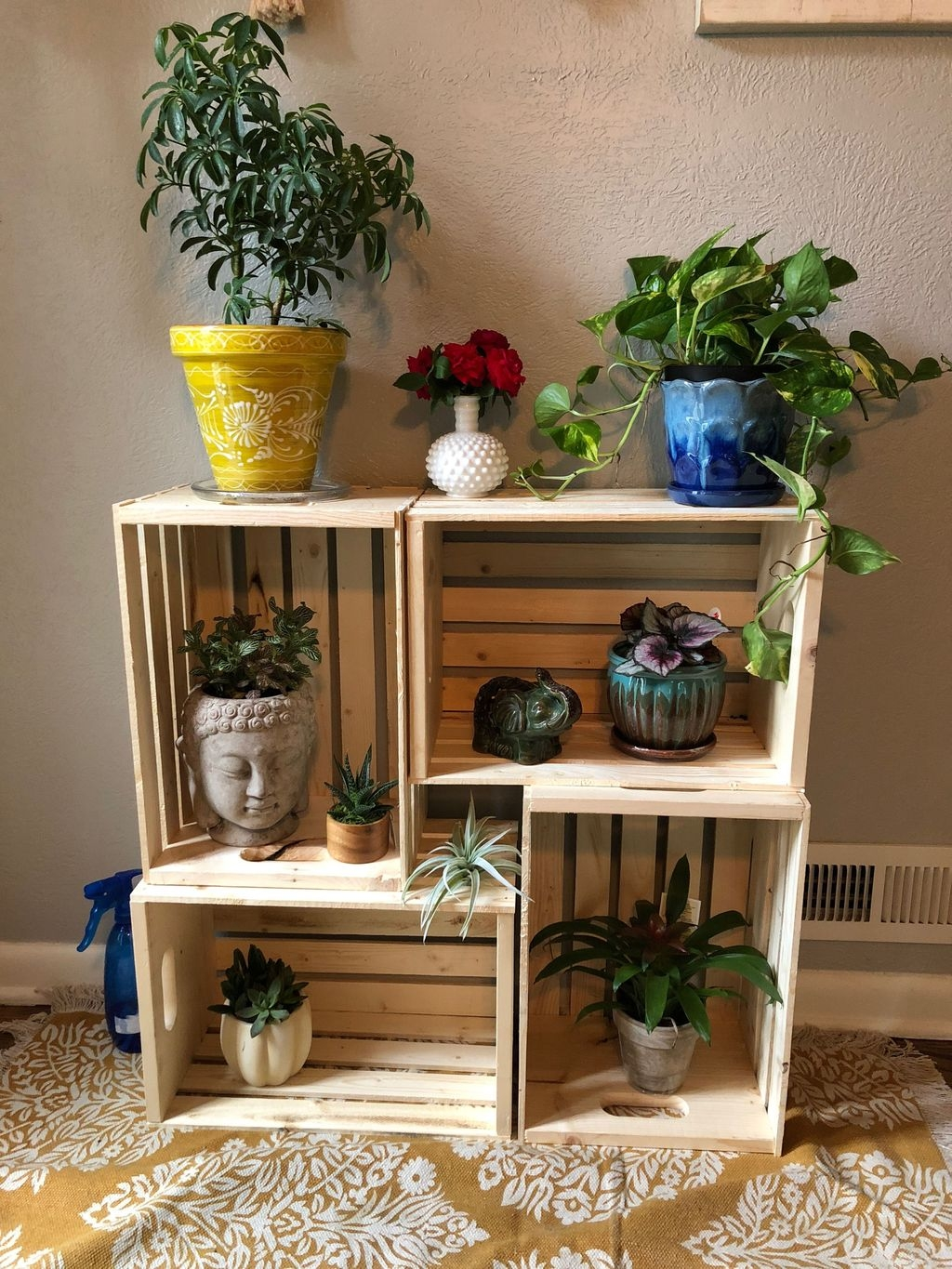 20 Inexpensive DIY Plant Stand Ideas on House Plant Stand Ideas  id=19683