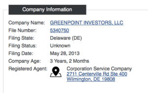 Greenpoint Investors, LLC
