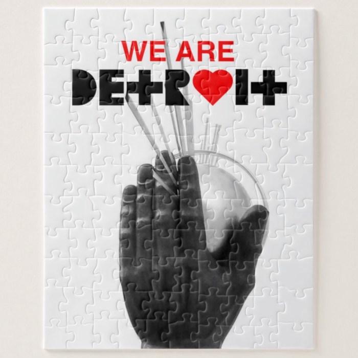 We Are Detroit Puzzle