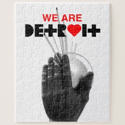 We Are Detroit Puzzle