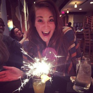 Holly sparkles at Crave. (Fireworks not required.)